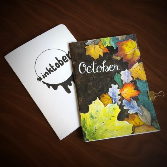 Travellers Notebook Inserts October
