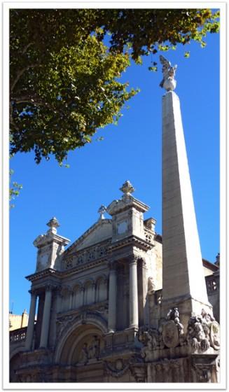L'église de la Madeleine, Aix en Provence