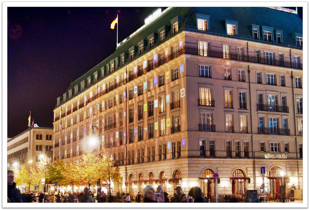 Festival of Lights: Hotel Adlon