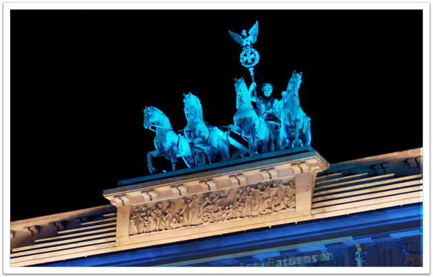 Festival of Lights: Quadriga