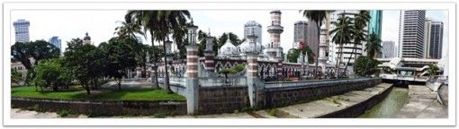 Mosque Masjid Jamek, Kuala Lumpur