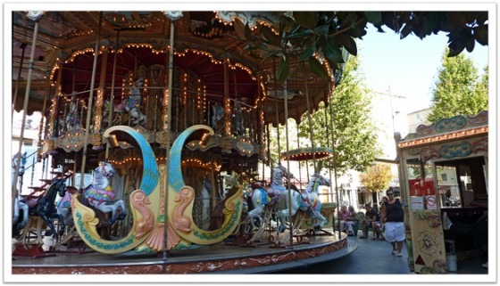 Old carousel, Marseille