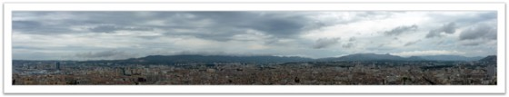 Panorama View of Marseille