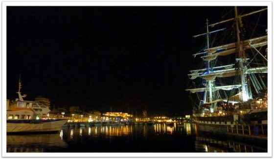 Port Vieux at Night