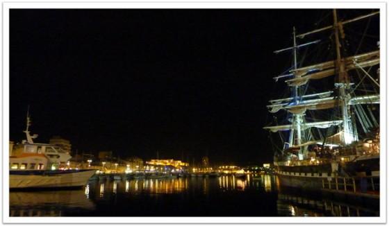 Port Vieux at Night